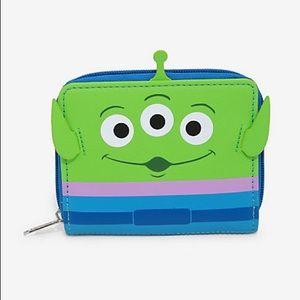 Loungefly Pixar Toy Story Alien Mini Zip Wallet